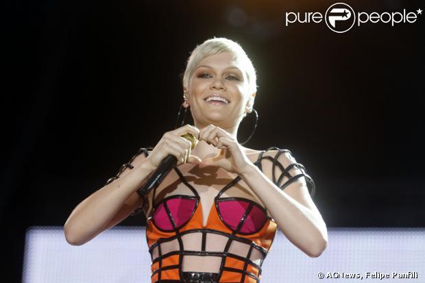 Jessie J foi a segunda atração do Palco Mundo na terceira noite do Rock in Rio neste domingo, 15 de setembro de 2013