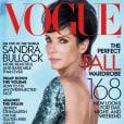 Atriz Sandra Bullock comenta sobre separação de Jesse James na edição de outubro da revista 'Vogue' americana