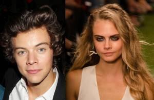 Harry Styles, ex de Taylor Swift, quer namorar Cara Delevingne: 'Gosta dela'