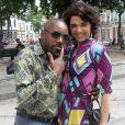 Pescoço (Nando Cunha) e Delzuite (Solange Badim) protagonizam cenas cômicas em 'Salve Jorge'
