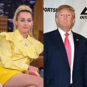 Miley Cyrus chora e promete deixar os EUA se Donald Trump for eleito: 'Triste'
