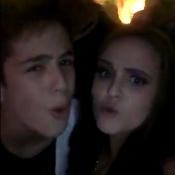 Larissa Manoela e o namorado, João Guilherme, cantam 'Baile de Favela'. Vídeo!