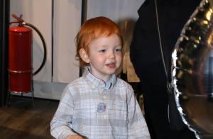 Filho de Carol Trentini, Bento, de 2 anos, esbanja fofura em evento. Fotos!