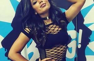 Anitta aposta em vestido vazado em show e exibe boa forma: 'Energia incrível'