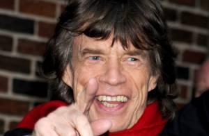 Mick Jagger, líder da banda Rolling Stones, será bisavô aos 70 anos