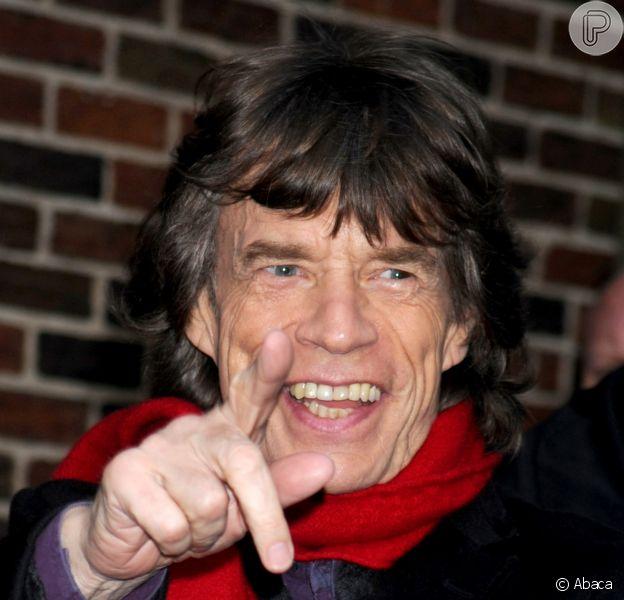 Aos 70 anos, Mick Jagger será bisavô