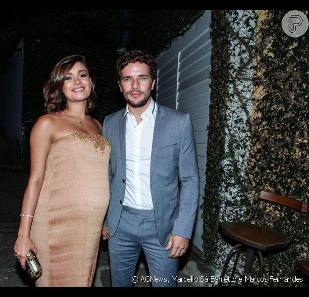Sophie Charlotte e Daniel de Oliveira no casamento de Dudu Azevedo e Fernanda Mader, no sábado, 05 de março de 2016
