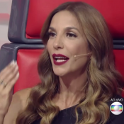 'The Voice Kids': Ivete Sangalo pede 'país decente' e fãs elogiam: 'Lacradora'