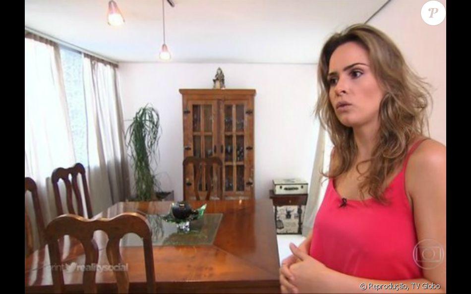 Expulsa do 'BBB16', Ana Paula participou do 'Fantástico' nesse domingo , 6 de março de 2016: 'Infelizmente eu sou desse jeito mesmo'