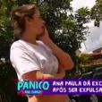 'Eu assinei um contrato escrito se a pessoa fizer você perder as estribeiras para chegar ao ponto de dar nela, ela também estará eliminada', explicou Ana Paula