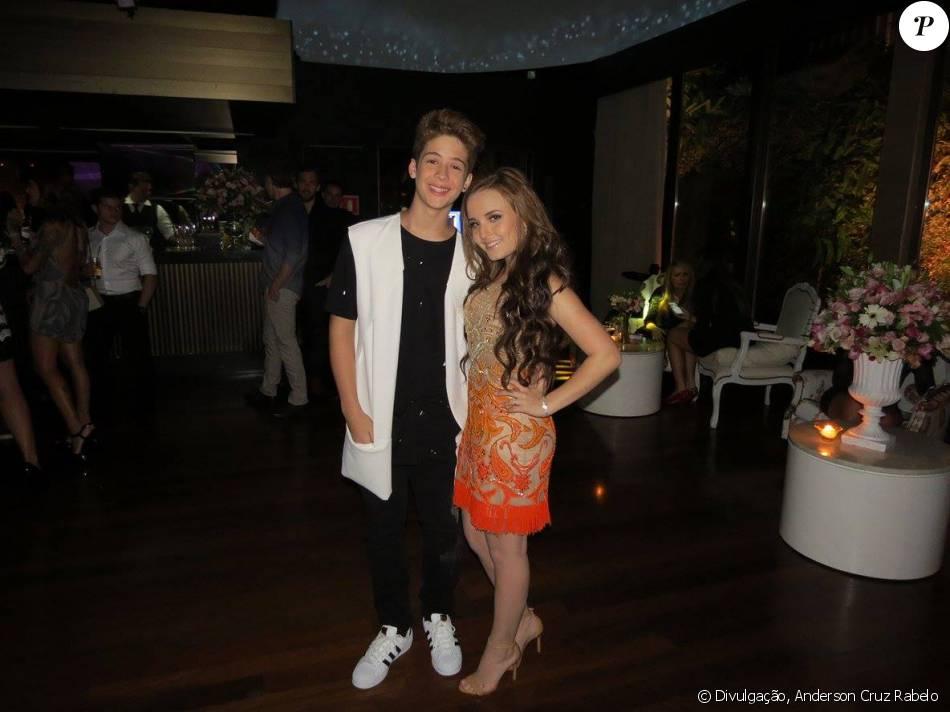João Guilherme Ávila comenta namoro com Larissa Manoela   Torcem pelo nosso  ... 069fdf992b