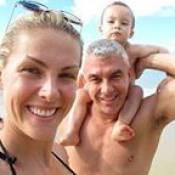 Ana Hickmann festeja os 2 anos do filho, Alexandre Jr.: 'Maior presente de Deus'