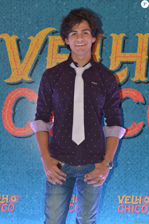 41e4a08c2 Lucas Veloso, filho de Shaolin, fará sua estreia na novela 'Velho Chico'