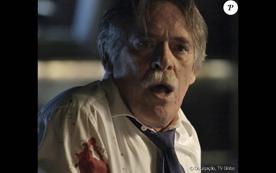 Quem matou Gibson (José de Abreu) é o grande mistério dos últimos capítulos da novela 'A Regra do Jogo', que deve ser revelado no desfecho da trama, em 11 de março de 2016