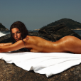 Mariana  Goldfarb  posou seminua para a capa e o recheio da revista masculina 'Trip', há três anos