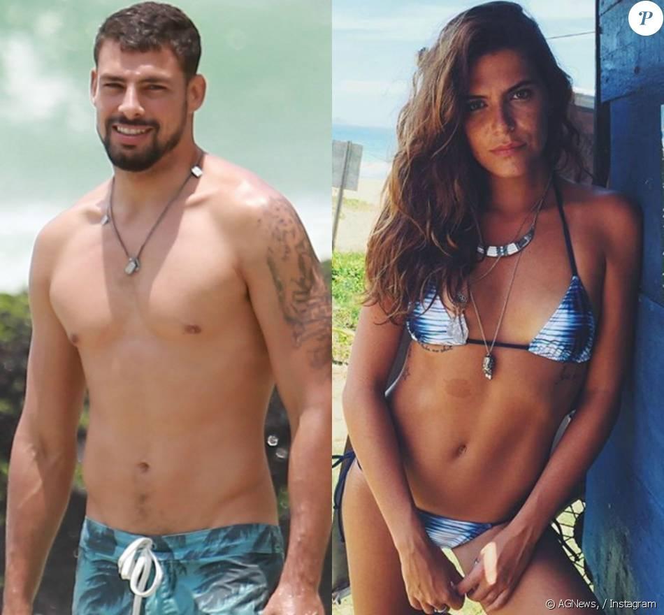 Cauã Reymond e a apresentadora Mariana Goldfarb estão juntos há três meses