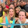Ana Paula foi entrevistada por Giovanna Ewbank no 'Vídeo Show'