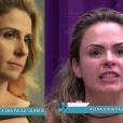 Atena e Ana Paula foram comparadas no 'Vídeo Show' desta quarta-feira (9)