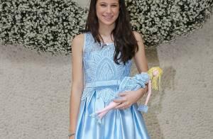 Sophia, filha de Claudia Raia e Edson Celulari, esbanja charme em evento. Fotos!