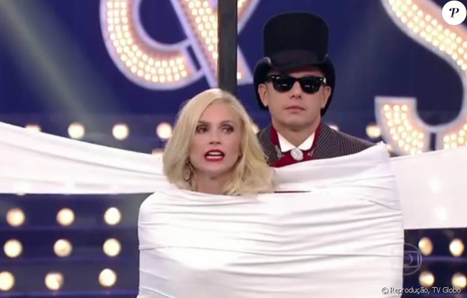 Flávia Alessandra e Otaviano Costa tentaram adivinhar as respostas um do outro sobre os gostos de roupa do casal no 'Amor & Sexo' de sábado, 12 de março de 2016
