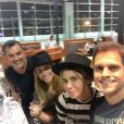 Giovanna Antonelli viajou para Madri para curtir as férias, neste domingo, 13 de março de 2016