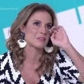 Maíra Charken chora, dança, canta e agrada em estreia no 'Vídeo Show': 'Arrasou'