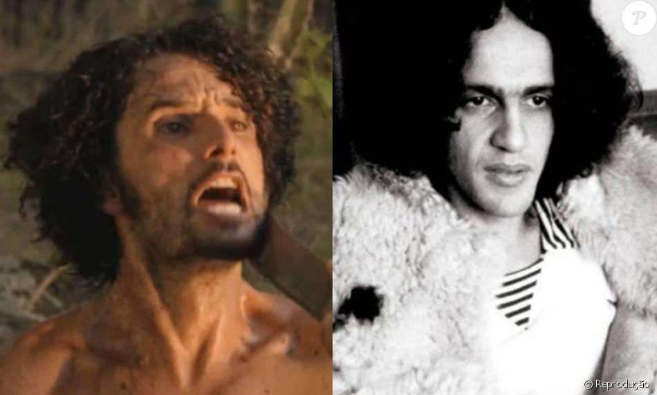 Rodrigo Santoro teve seu visual em 'Velho Chico' inspirado na juventude de Caetano Veloso