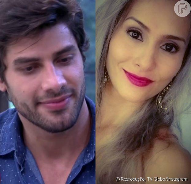 Renan, eliminado do 'BBB16', faz planos com a ex-namorada Cinthia Mayumi: 'Voltar com ela, casar, constituir uma família'