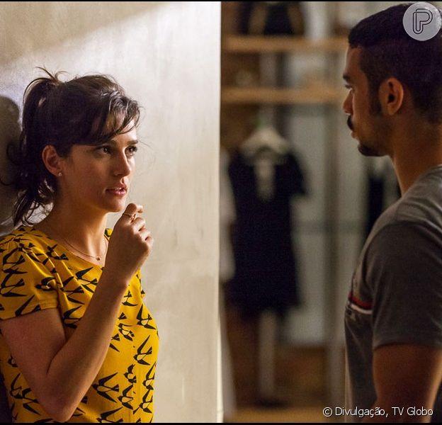 Sofia (Priscila Steinman) mandará Jacaré (Sérgio Malheiros) matar Eliza (Marina Ruy Barbosa) em 'Totalmente Demais'
