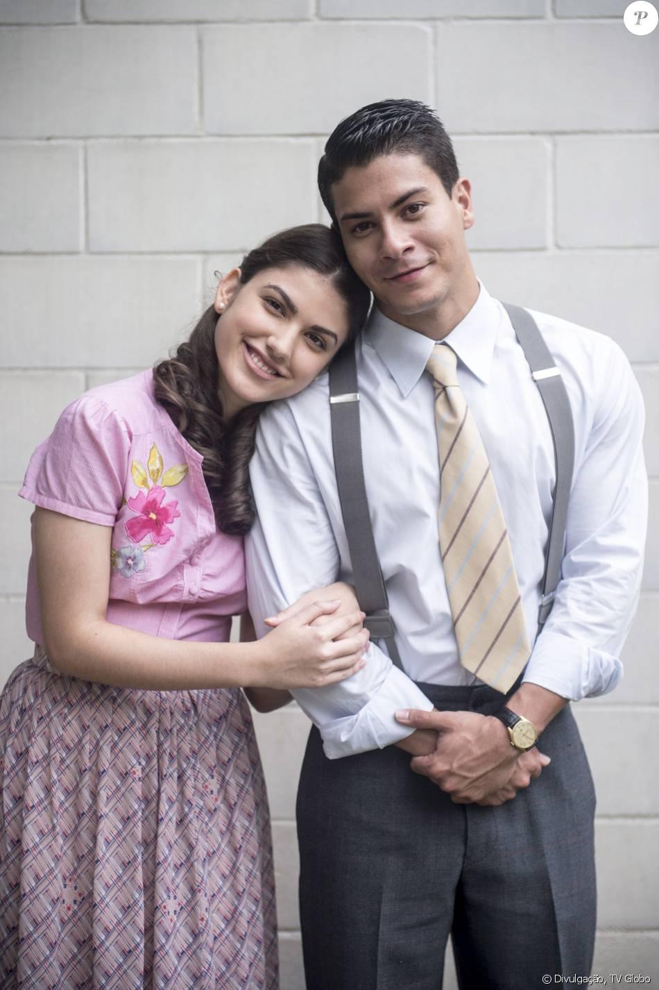 Osório (Arthur Aguiar) é obrigado a ficar noivo de Gerusa (Giovanna Grigio) por decisão de Camélia (Ana Lúcia Torre), na novela 'Eta Mundo Bom!'