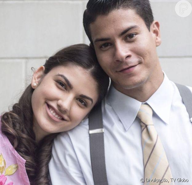 Na novela 'Eta Mundo Bom!', Osório (Arthur Aguiar) é obrigado a ficar noivo de Gerusa