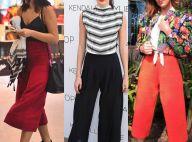 Bruna Marquezine e outras famosas montam looks com pantacourt. Veja fotos!