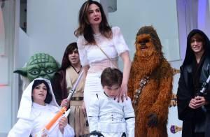Luciana Gimenez comemora 5 anos do filho caçula, Lorenzo, com festa em SP