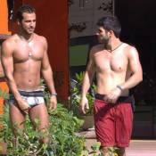 'BBB16': Laham é incentivado por Matheus a beijar Munik na festa. 'Pode tentar'
