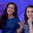 Fernanda Souza foi cotada para substituir Monica Iozzi no comando do 'Vídeo Show'