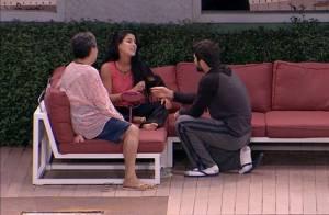 'BBB16': Juliano Laham pede Munik em casamento após beijo. 'Caso', diz sister