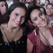 Bruna Marquezine e Thaíssa Carvalho curtem show do Maroon 5 no Rio