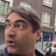 Zeca Camargo conseguiu pegar um táxi enquanto mostrava as ruas de Bruxelas, na Bélgica, vazias. 'Vim para passar menos de 24 horas e não sei se vou sair'