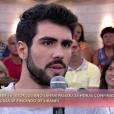 Juliano Laham, o ator que encarnou um libanês e passou 36 horas confinado no 'BBB16', participou do 'Encontro com Fátima' nesta terça-feira, 22 de março de 2016