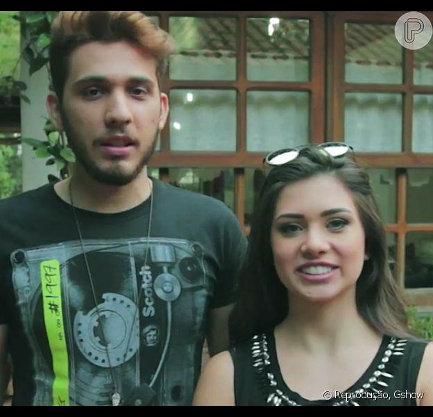 Flávia Pavanelli, namorada de Biel, grava clipe de Gustavo Mioto: cantor critica funkeiro em entrevista nesta quarta, dia 23 de março de 2016