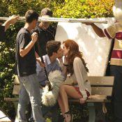 Sophia Abrahão e Daniel Rocha gravam cenas de beijo em 'Amor à Vida'. Veja fotos