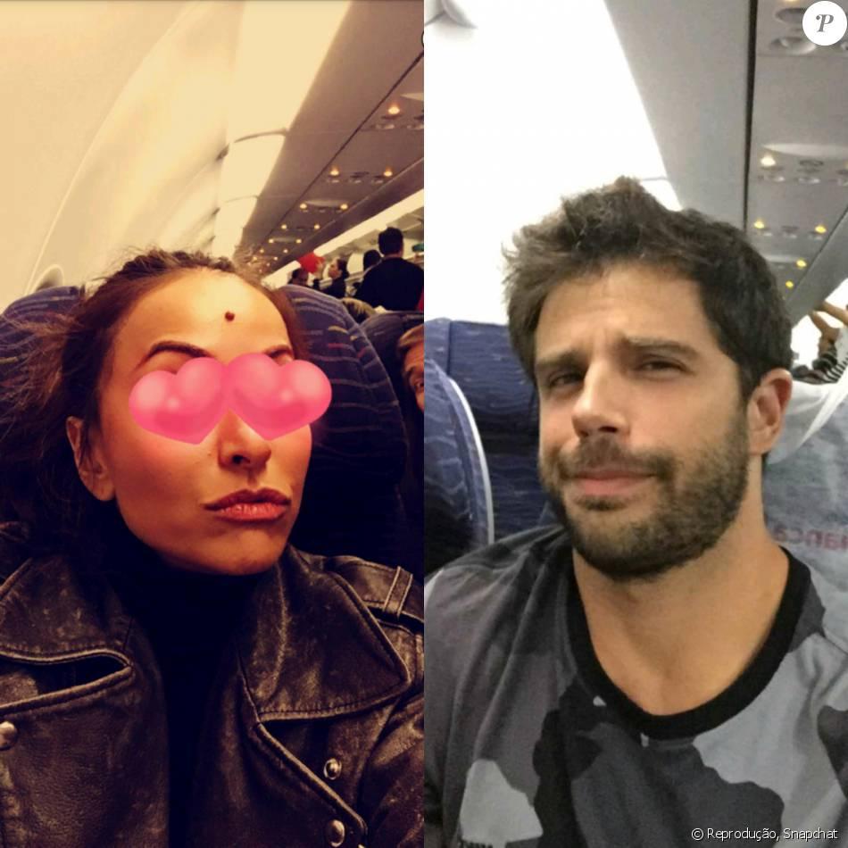 Sabrina Satoe Duda Nagle viajaram juntos para Alagoas, onde postaram fotos juntos nesta quinta-feira, dia 24 de março de 2016