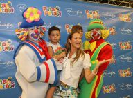 Luana Piovani e Alinne Moraes se divertem em espetáculo de circo com seus filhos