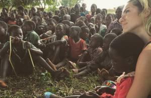 Giovanna Ewbank posa com crianças durante visita ao Malauí, na África: 'Só amor'