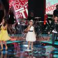 Pérola Crepaldi, Rafa Gomes e Wagner Barreto foram os finalistas do 'The Voice Kids'