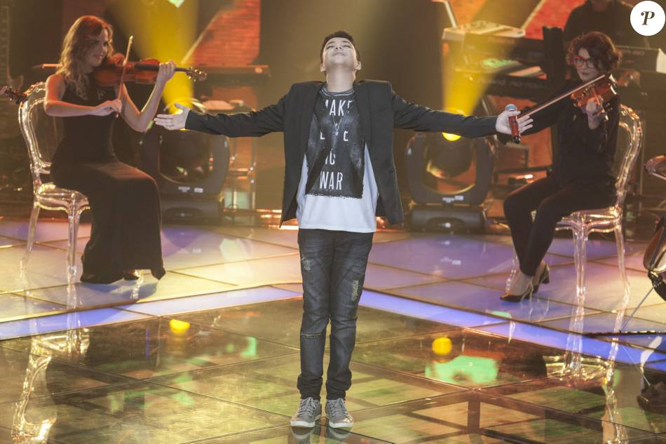 Wagner Barreto, cantor de 15 anos nascido no Paraná, é o vencedor da primeira edição do 'The Voice Kids'
