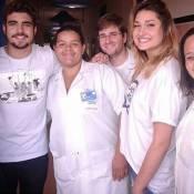 Sasha Meneghel e Caio Castro despertam suspeitas de romance ao posarem juntos