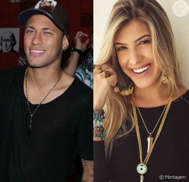 Neymar passou a Páscoa com Lorena Improta, bailarina do Faustão, em Santa Catarina