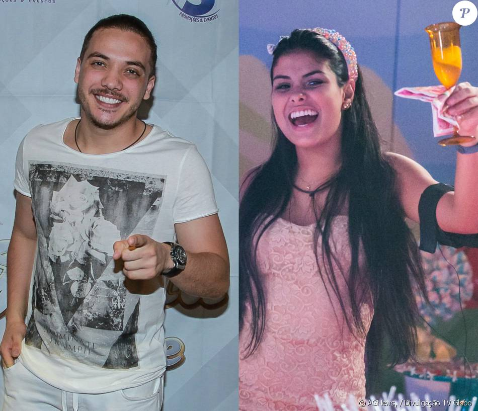 Wesley Safadão quer sua fã Munik como campeã do 'BBB16': 'Estou na torcida'