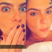Namorada de Cauã Reymond chama novos seguidores de 'chatos' no Snapchat. Vídeo!
